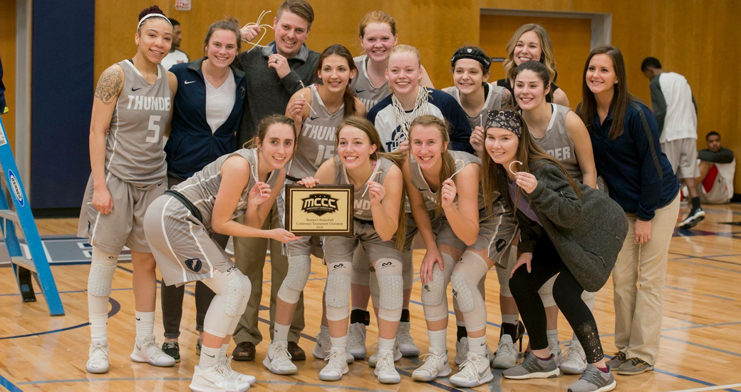 Manhattan Christian College won the 2018 MCCC Tournament with a 68-66 win over Emmaus Bible College on Saturday, Feb. 17, 2018.