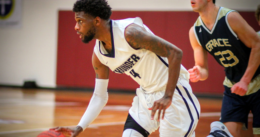 Manhattan Christian's Sterling Turner helped guide the Thunder to a third place finish in the NCCAA DII National Tournament.